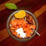 Newsletter - tropisches Frühstück