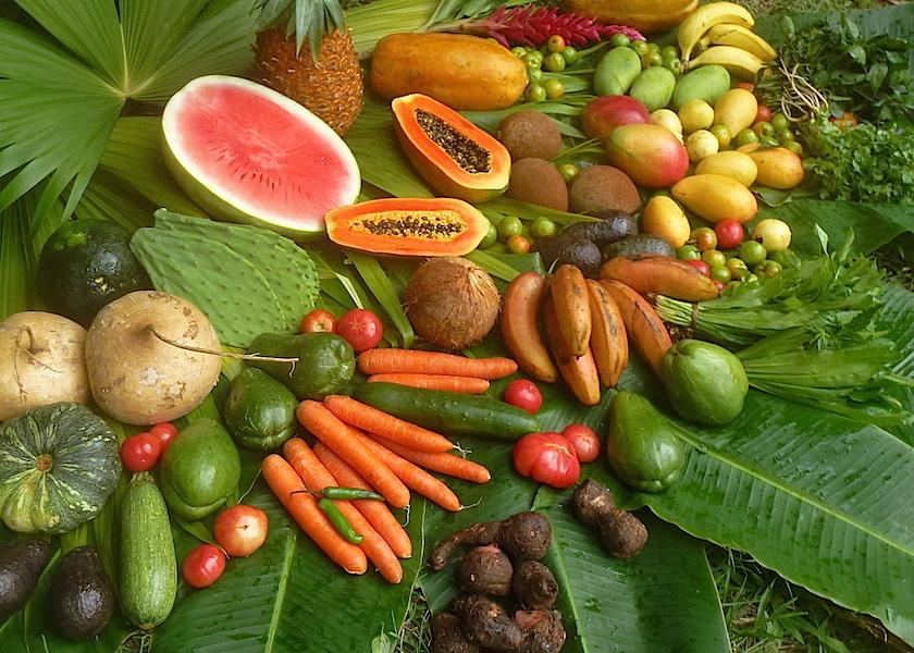 Früchte&Gemüse enthalten natürliche Mineralstoffe