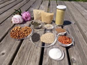 Nüsse, Samen, Quinoa, Amaranth..