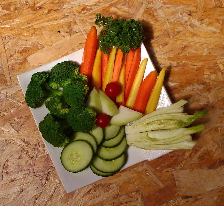 Dip-Gemüse