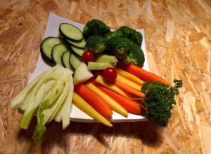 Mineralstoffe im Gemüse und Früchten