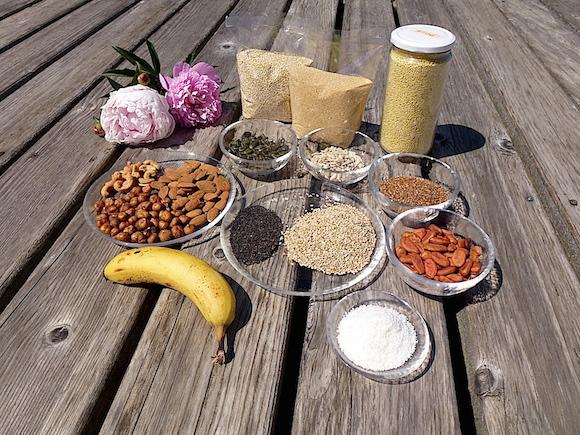 Mineralstoffe für gute Laune