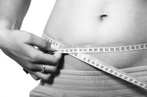 Übergewicht-schlank