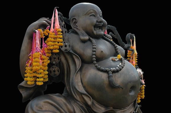 Übergewicht - Buddha