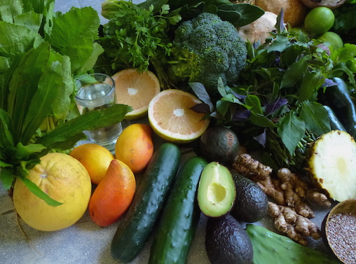 Darmreinigung Detox-Food
